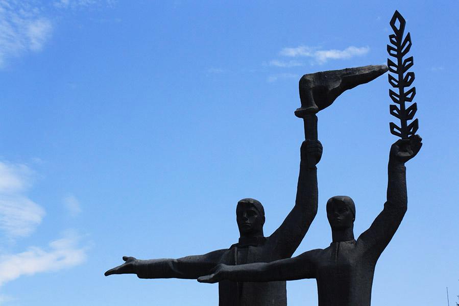 Statue de Novossibirsk