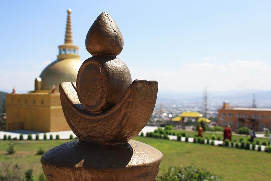 Ulan Ude temple boudhiste