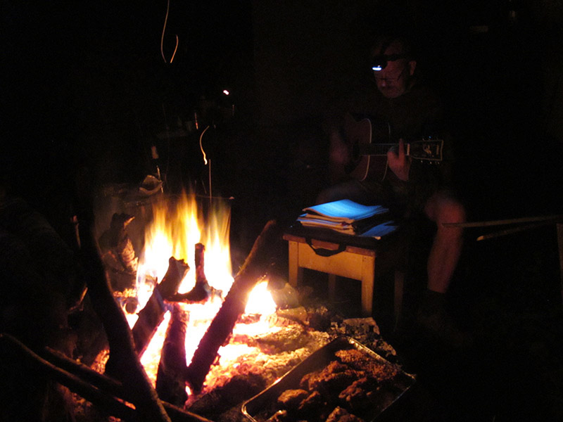 Nuit dans la cabane à Košice