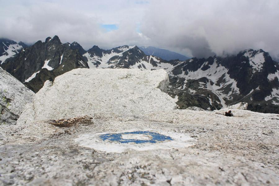 Sommet du mont Slavkovský, Tatras
