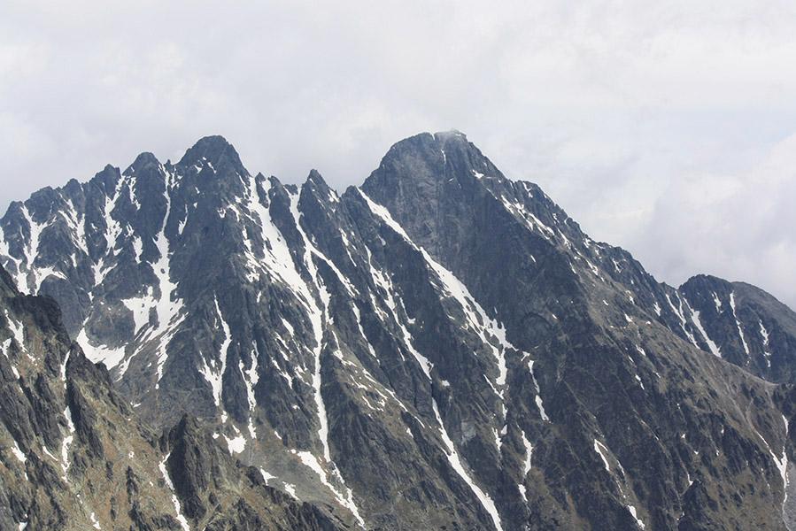 Ascension du mont Slavkovský (2 454 m) dans les Hautes Tatras