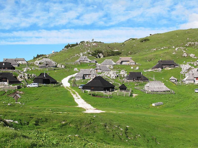 Maisons en bois de Slovénie