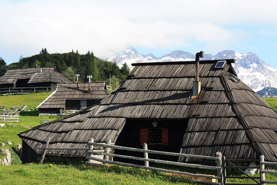 Village de Velika Planina