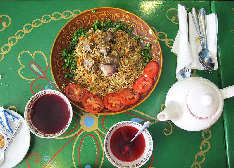 Repas d'Ouzbekistan
