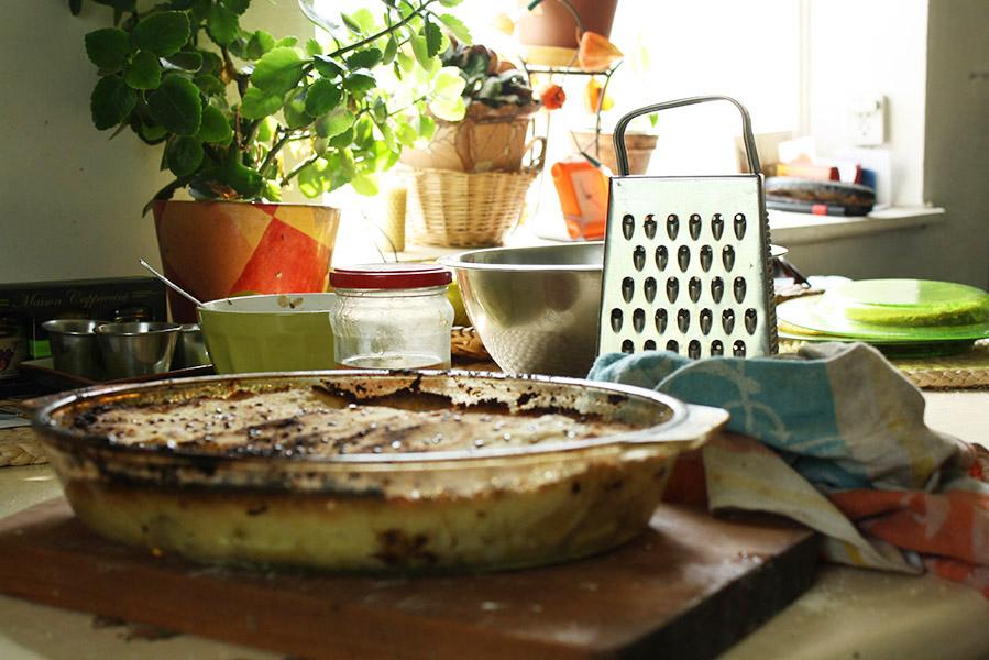 Cuisine et gâteaux pour le festival Ligo