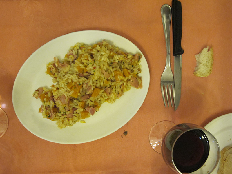 Cuisine italienne - risotto