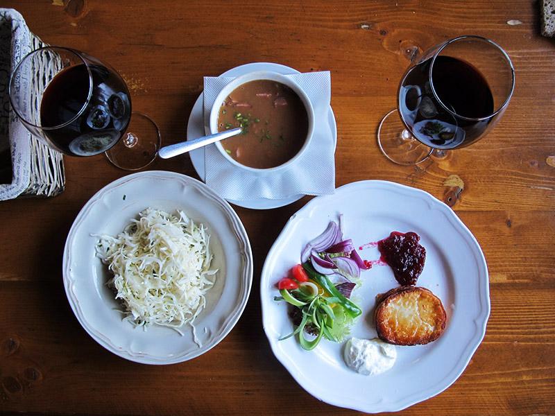Repas en Slovaquie