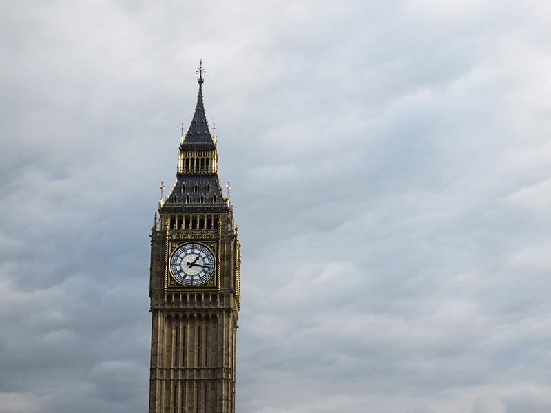 Big Ben, la tour de l'horloge