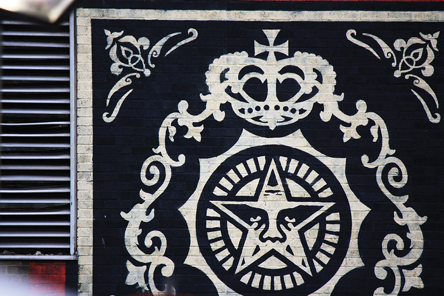 Old Truman Brewery, street-art, Obey ou Shepard Fairey